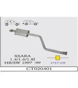 XSARA 1.4/1.6/1.8İ  HB/SW O.B G/A 1997-99