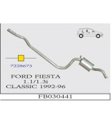 FIESTA 1.1 i / 1.3i CLASSIC O.B. 1992-96