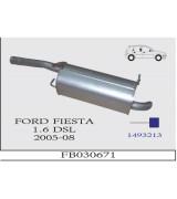 FİESTA 1.6 DSL. ARKA SUS. FOCUS MOTOR  2005-08