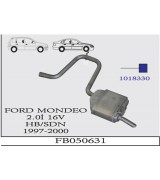 FORD MONDEO 2,0İ 16V ARKA SUS.HB/SDN 1997-00