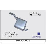 FOCUS 1.6 A.B. HB G/A 1998>....
