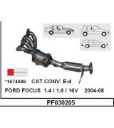 FOCUS 1.4 / 1.6 i 16V K.K  E-4   2004-08