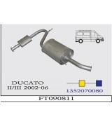 DUCATO II/III ORTA-ARKA SUST. TD/JTD  2002-06