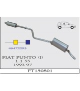 PUNTO (I) 1.1 55 ORTA - ARKA 1993-97