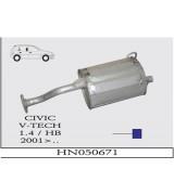CIVIC A.B EURO 1.4 HB    2001>... G/A