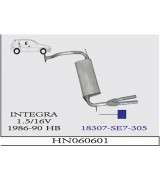 INTEGRA A.B  1.5 86-90.. G/A