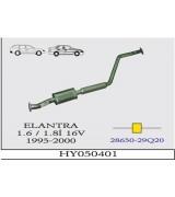ELANTRA 1.6/1.8İ 16V ORTA BORULU SUS.1995-2000