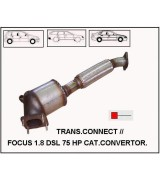 75 HP FOCUS 1.8 DSL/TRNST CONNECT  SPRLLİ KAT.KONV.