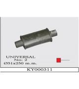 UNIVERSAL K.Y 02  Ø57X250 MM G/A