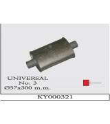 UNIVERSAL K.Y 03  Ø57X300 MM G/A