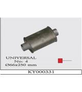 UNIVERSAL K.Y 04  Ø66X250 MM G/A