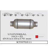 UNIVERSAL K.Y TÜP SUS. 110X170 mm