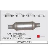UNIVERSAL K.Y TÜP SUS. 110X220 mm DİREKT....