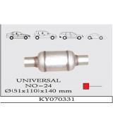 UNIVERSAL 24 K.Y  TÜP SUS. 110X140 mm