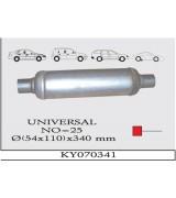 UNIVERSAL K.Y 25 TÜP SUS. 110 x 340 mm