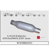 UNIVERSAL K.Y 30 TÜP SUS. Ø54X89X250 mm