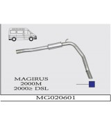 MAGIRUS 2000M ARKA BORULU G/A