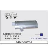 MERCEDES 2521-2517 KMY. SUS. KASALI
