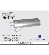 MERCEDES 2521-2517 KMY. SUS. DAMPERLİ