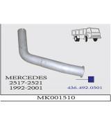 MB 2517-2521 DAMPERLİ KMY ÇIKIŞ BORUSU 1992-01
