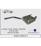 C 200/220 DSL 202W  A.B. 1993-98 G/A