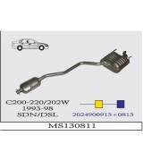 C200/220 DSL 202W  A-O  1993-98 G/A