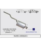 MERCEDES C-270 CDI  ARKA SUS. 2000>...