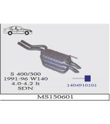S 400/500  W140 A.B BSK 1991-96 G/A