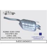 S280/300/320 W140  A.B  BSK 1991>..  G/A
