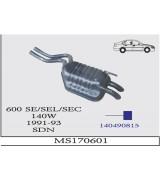 600 SE/SEL/SEC  A.B. BSK. Ç-Ç 91-93 G/A