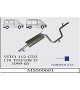 VITO 108/110/112 CDI MIN  A.B. 1999-03. G/A