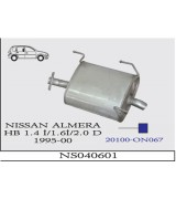 ALMERA A.B  HB 1.4İ/1.6İ/2.0 DSL 1995-00 G/A