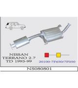 TERRANO 2.7 TD 4*4 ÖN-ORTA SUS. 1993-99