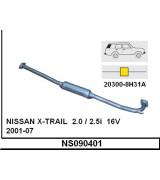 X-TRAIL ORTA BORULU SUS.  2.0 / 2.5i  2001-07