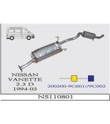 NISSAN VANETTE 2.3  DSL A-O 1994-03