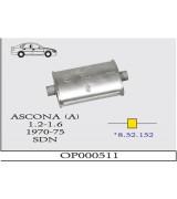 ORTA S.1.2/1.6  DRK. KS  ASCONA (A) 70-75 G/A
