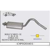 RECORD E 1.8/2.0   O.B. 82-91 G/A