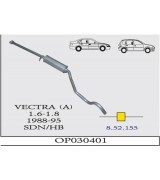 VECTRA (A) O.B 1.6/1.8  88-95 G/A