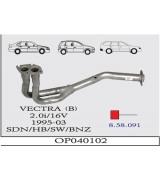 VECTRA (B) ÖN BORU 2.0 İ 16V 95-2003 G/A