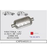 VECTRA (A) ÖN  S. 2.0/1.8 16V 88-92  G/A