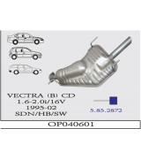 VECTRA (B)  ARKA 1.6/2.0 İ 16V 95-2002 G/A