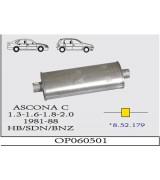 ASCONA C  ORTA SUS. 1.3-2.0 81-88  G/A