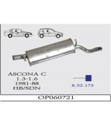 ASCONA C ARKA S.1.3/1.6 SDN/HB 81-88 G/A