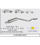 ASTRA F  O.B. SD/HB 1.4/1.6İ 91-98 . G/A