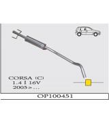 CORSA ( C )   1.4 i 16V ORTA SUS. 2005>...