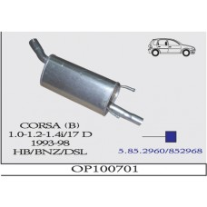 CORSA B ARKA 1.0/1,2/1,4İ /1.7D  1993/98 G/A