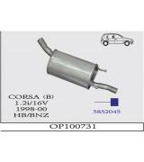 CORSA B  ARKA 1.2İ 16V 98 -00 . G/A