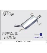 CORSA C ARKA 1.4/1.6İ 16V 2000>..G/A
