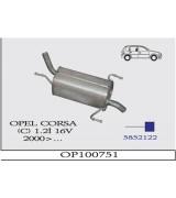 CORSA (C ) 1.2 İ 16V ARKA 2000>  G/A
