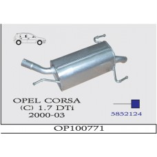 CORSA  C  1.7 DTi  ARKA SUS. 2000>